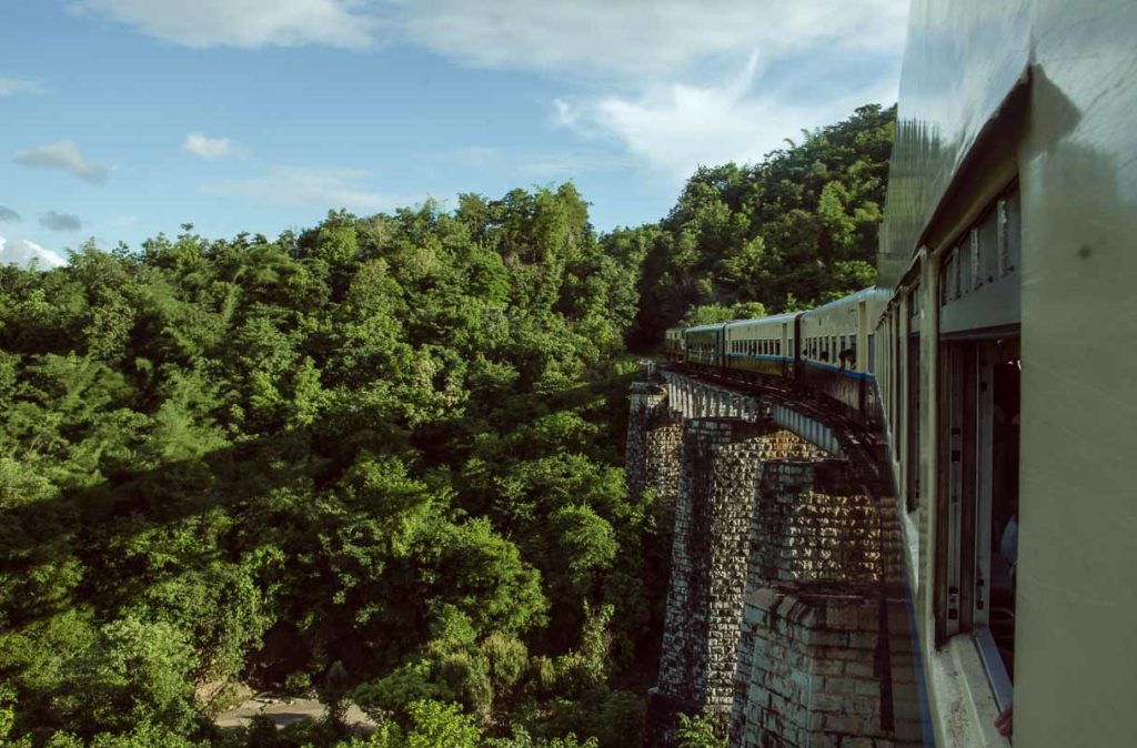 Myanmar - The slow train to Thazi