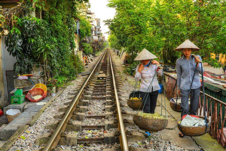 Hanoi Long Bien Station