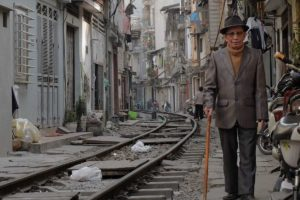 Life on Hanoi's inner-city railway