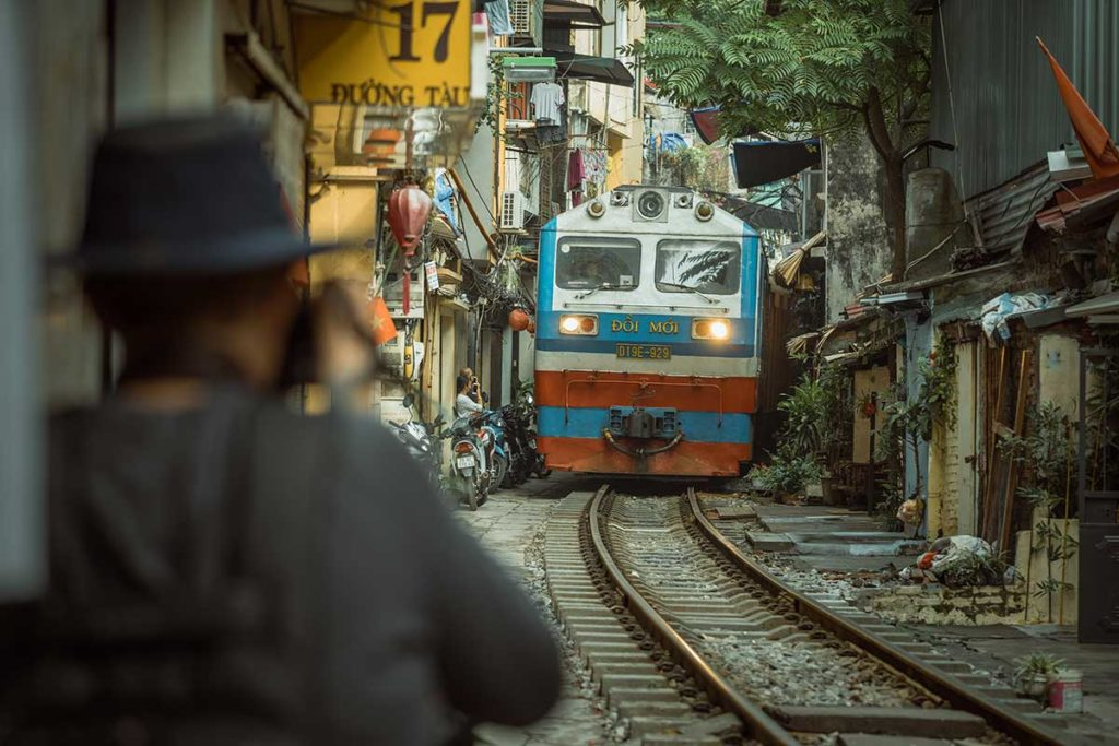 Hanoi Life on the Tracks