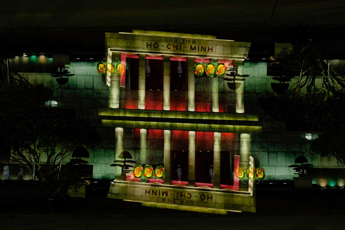 Hanoi by Night - Ho Chi Minh Mousaleum