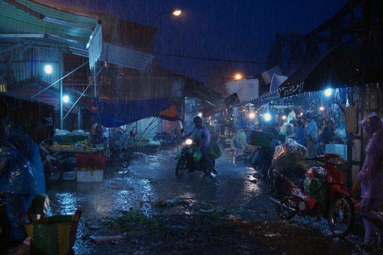 Hanoi Long Bien Market