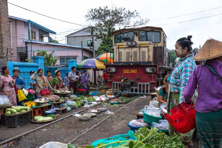 Myanmar by Rail