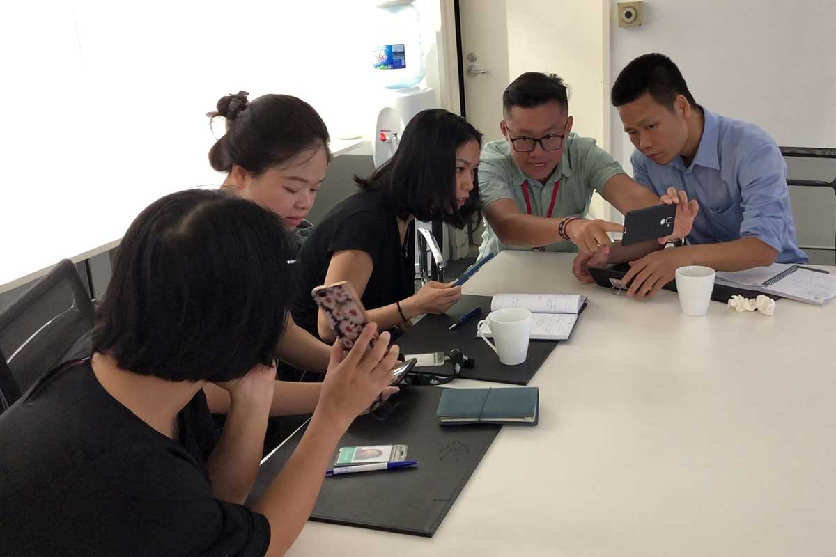 Australian Embassy Smartphone Workshop