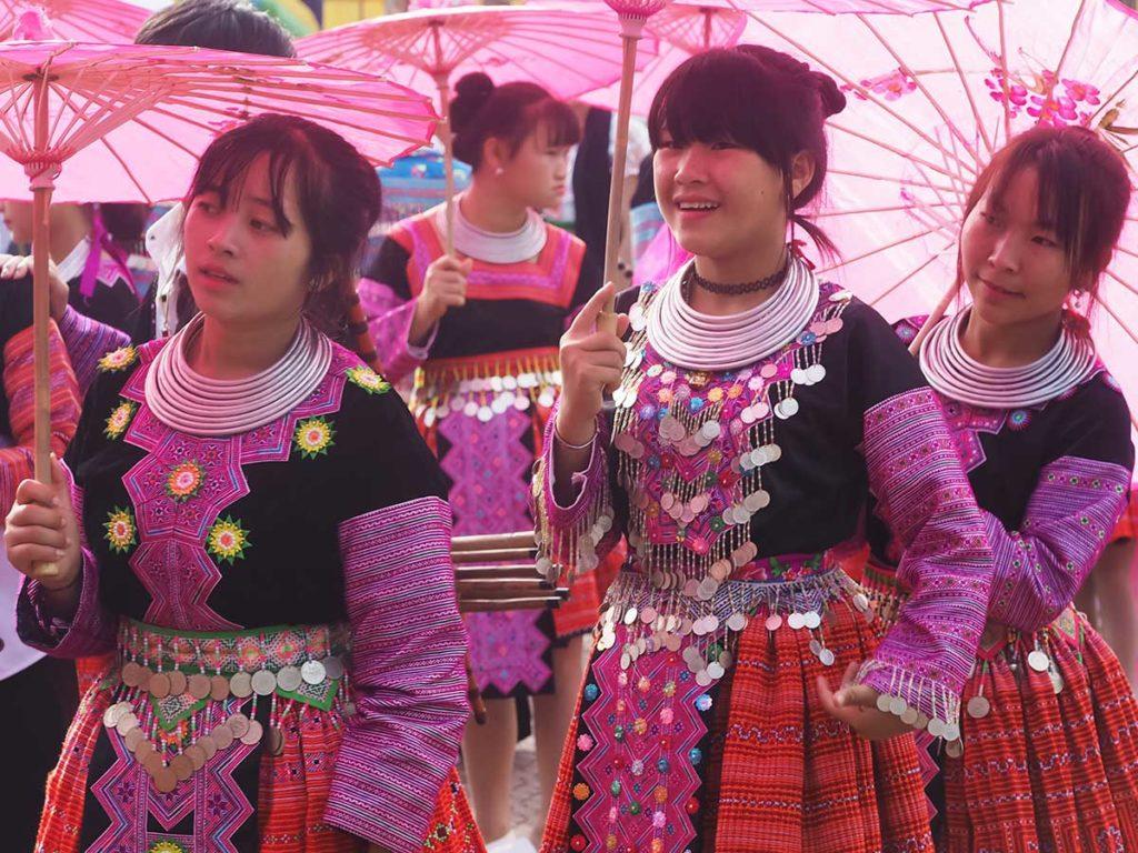 Moc Chau Love Market