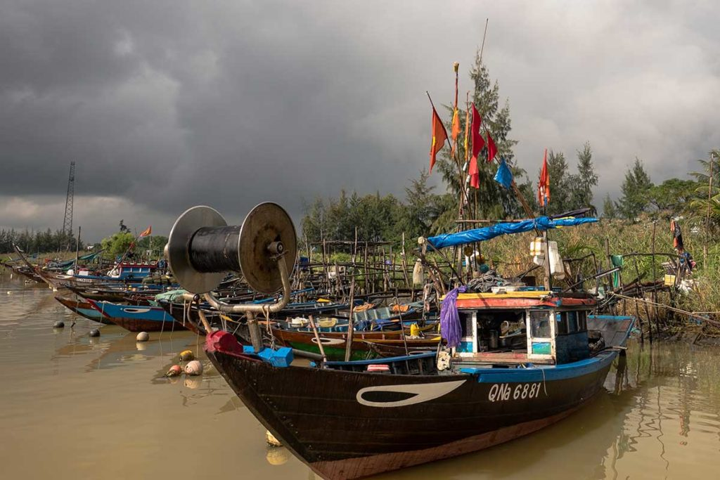Hoi An to the light house on the Thu Bon river